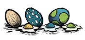 Яйца в казане