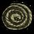 Ковёр в форме вихря