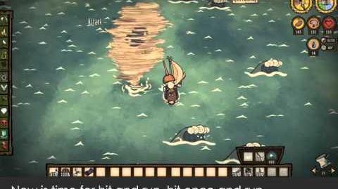Don't Starve Shipwrecked - Cách đánh Hải Lốc!! (sinh bằng mã)