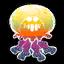 Méduse arc-en-ciel objet