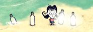 Бутылочный фонарь в игре