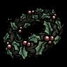 Holly Wreath Icon