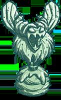 Statue Bee Queen Moonglass