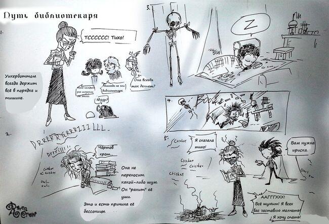 The librarian way by ravenblackcrow-d7gcxekfix