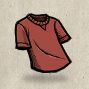 Tshirt red higgsbury collection icon