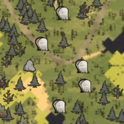 Могилы на карте
