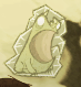 Лягушка заморожена
