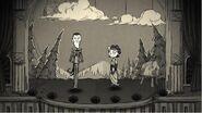 Максвелл и Чарли в их последнем представлении