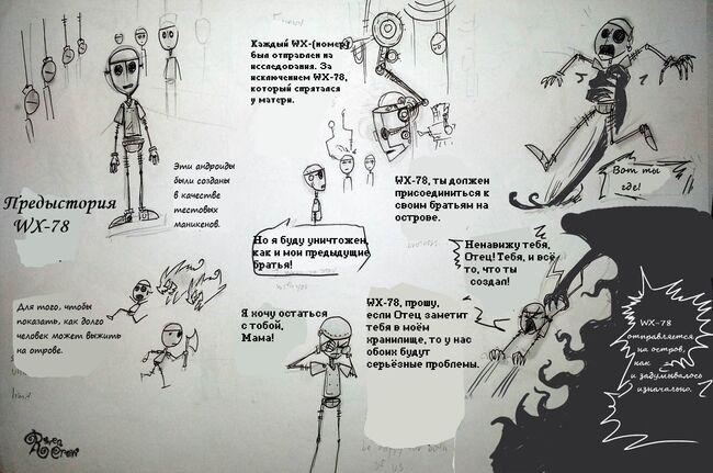 Origin of wx 78 by ravenblackcrow-d6aldh8