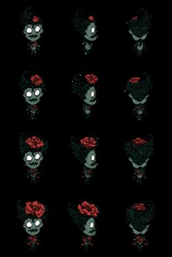 Цветение Вормвуда-розы