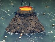 Вулкан в игре