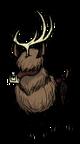 Безглазый олень