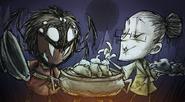 Веббер готовит с Уикерботтом