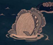 Baleine bleue gelée
