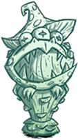 Statue Toadstool Moonglass