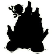 Rot silhouette beta 1