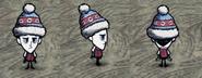 Уилсон в зимней шапке