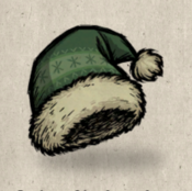 Winterhat stocking cap green forest collection icon