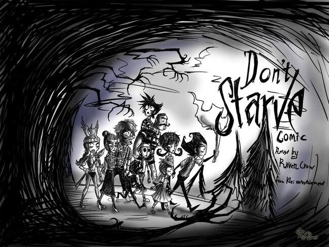 Dont starve comic new by ravenblackcrow-d7eaxzs