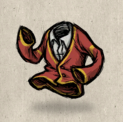 Cardigan red cardinal collection icon