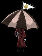 Торговец под зонтом