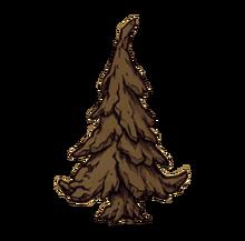 Petrified tree moyen render