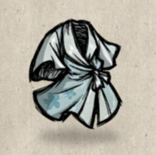 Silk eveningrobe blue frost collection icon