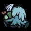 Chapeau fungi bleu