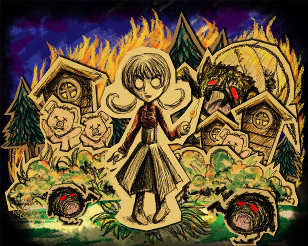 Don t starve willow s pyromancy night by rinnkruskov-d678tzh