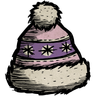 Pink Winter Hat Icon