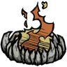 Fanged Firepit Icon