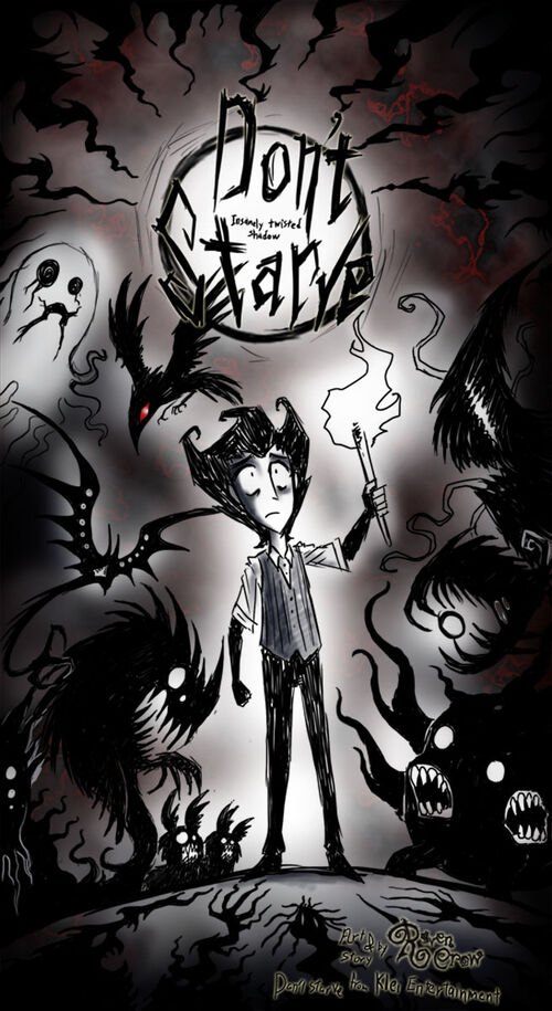 Don t starve insanely twisted shadow world by ravenblackcrow-d63xhcz