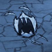 Глубинный паук атакует