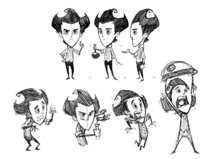 Wilson FK Sketches