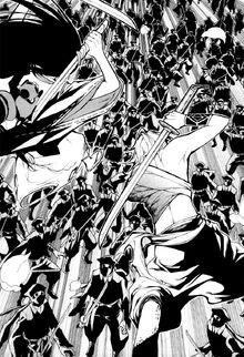Кагематсу и Хирари против клана Ашия