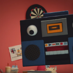A picture of the Boombox