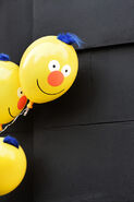 Yellow Guy balloons