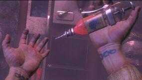 Bioshock-plasmid-electro-bolt-needle-injection