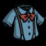 Suspension Shirt (Rubber Glove Blue)