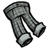 Rainy Gray Checkered Trousers Icon