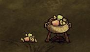 Cukierki w garnku