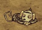 Śpiąca małpa jaskiniowa