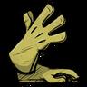 Long Gloves Sulfuric Yellow