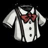 Classy Suspension Shirt Pure White