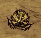Śpiący pająk wojownik