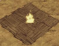 Palność drewnianej podłogi