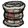 Distinguished Patchwork Quilt Houndbone White