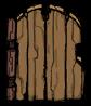 Postawiona drewniana bramka (DST)