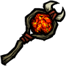Elegant Infernal Fire Staff