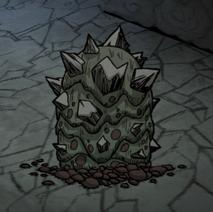 Kopiec slurtle w jaskini